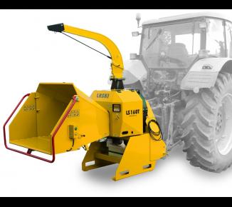Leistungsstarker Buschholzhäcksler zum Anbau an Ackerschlepper (540 U/min ) LS 160 T (540 U/min )