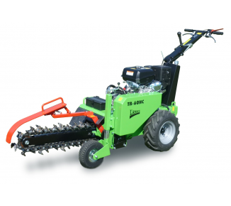 Grabenfräse mit hydraulischem Fahrantrieb und Kohler Motor TR 60/14 HC