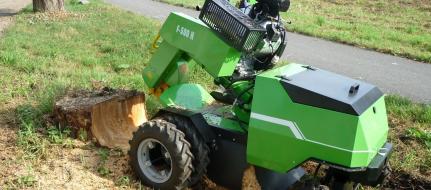 Baumstumpffräse mit Hydraulik F 500H/27