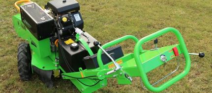 Handgeführte Baumstumpffräse mit elektrischem Fahrantrieb F 460E/27