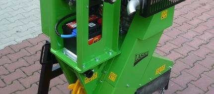 Baumstumpffräse zum Baggeranbau mit Verbrennungsmotor FZ 500/38