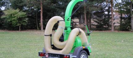 Ladegebläse auf Fahrgestell montiert   VD 500 P