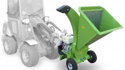 Buschholzhäcksler mit Kohler Motor  LS 95/GX