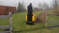 Grabenfräse für frostfreie Tiefe   TR 120 HI